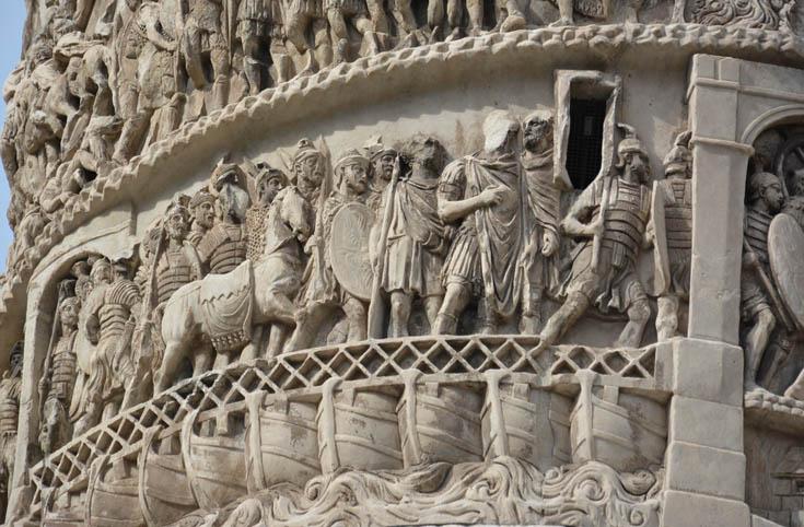 КОЛОННА МАРКА АВРЕЛИЯ, Рим