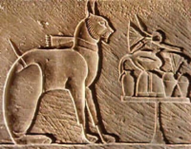 Древний Египет, настенная фреска