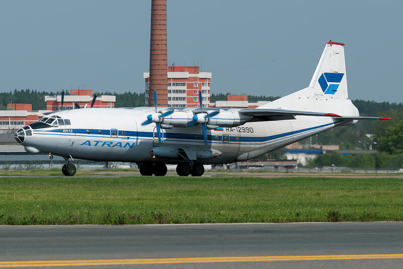 Антонов Ан-12Б (RA-12990) Атран DSC1806