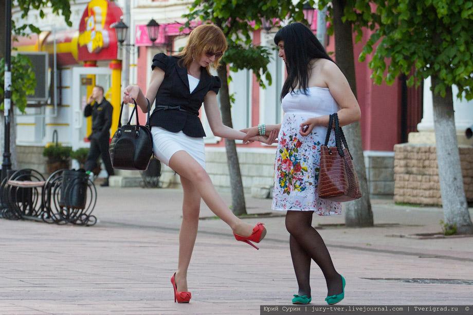 Секси девчонки на улицах