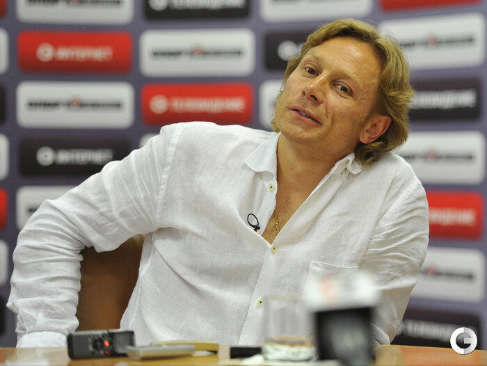 Главный тренер «Спартака» Валерий Карпин в редакции «СЭ» (Фото)