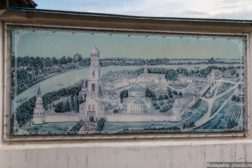 План Раифского монастыря.