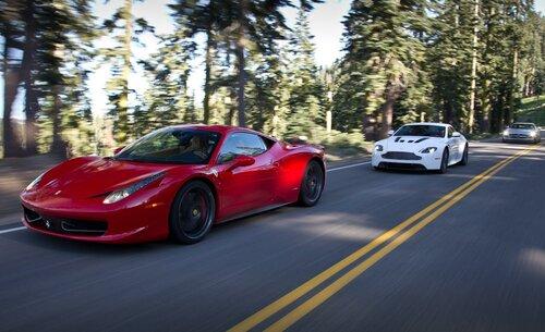 Техническое сотрудничество компании Aston Martin и Mercedes AMG
