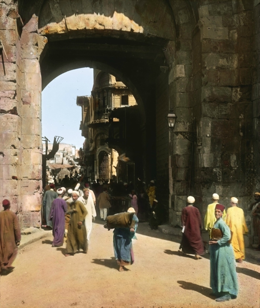 Цветные фото Египта в 1910 году