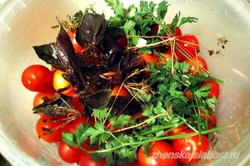 укроп для соления помидоров