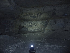 Налобный фонарь с сенсором - Olight H15 WAVE, в максимальном режиме светит так