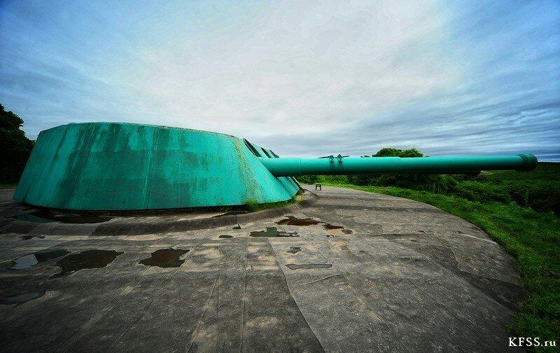 башня Ворошиловской батареи (№981), остров Русский