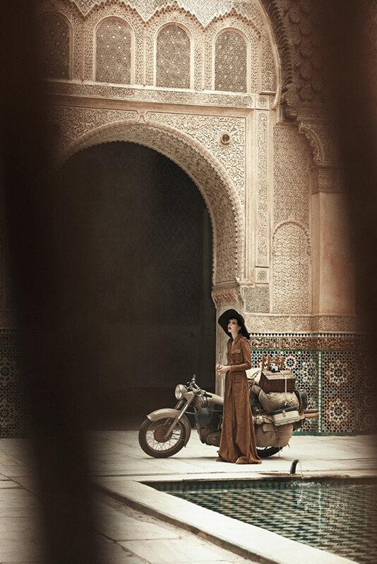 путешествие в марокко, vogue фотосессии