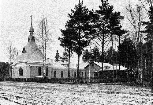 1906-1920. Храм Николая чудотворца при убежище фельдшериц