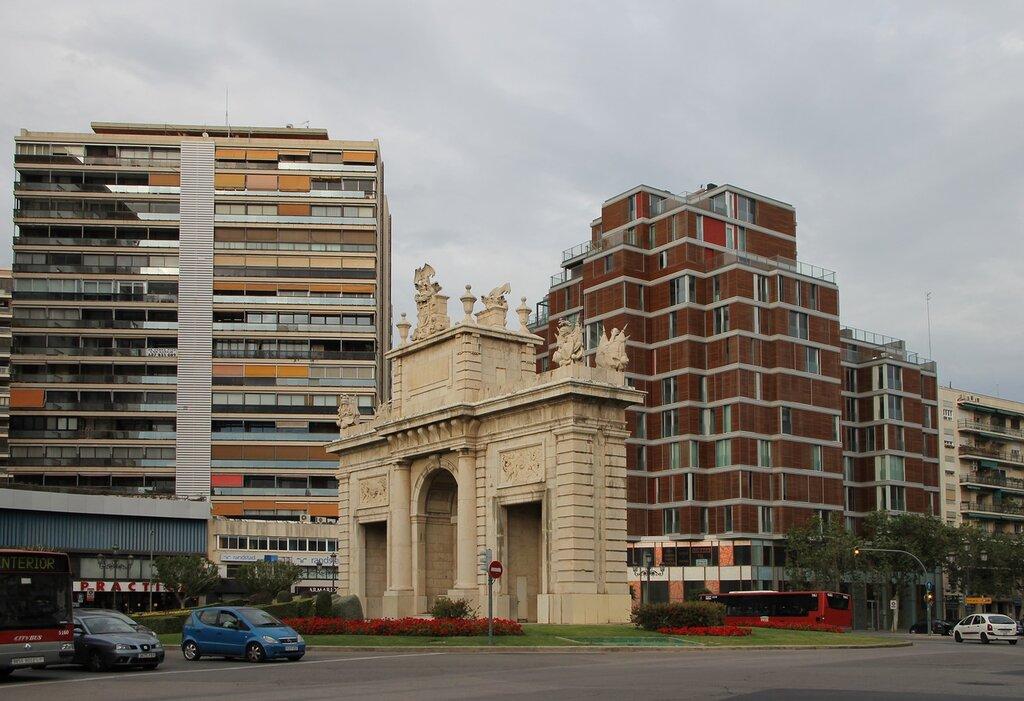 Валенсия. Морские ворота (Porta de la Mar)