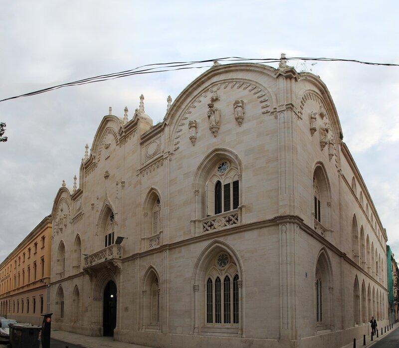 Валенсия. Приют маркиза де-Кампо (Asilo Marques de Campo)
