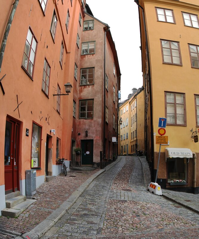 Stockholm, Gamla Stan.Merchant square. Köpmantorget .Stockholm, Gamla Stan