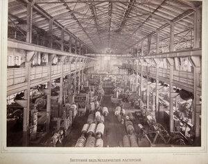 Внутренний вид механической мастерской.