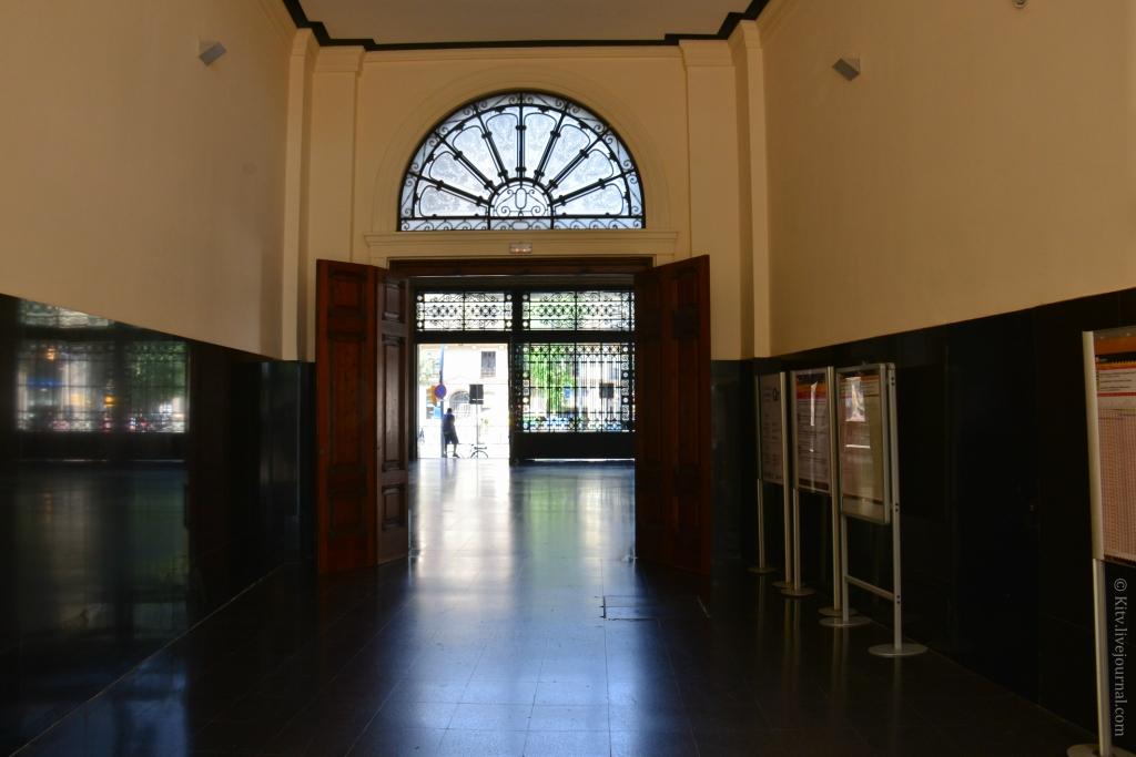 Вокзал барселона