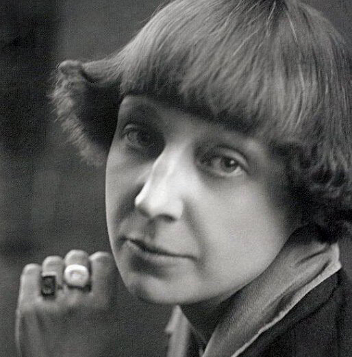 Марина Цветаева, Париж, 1925.