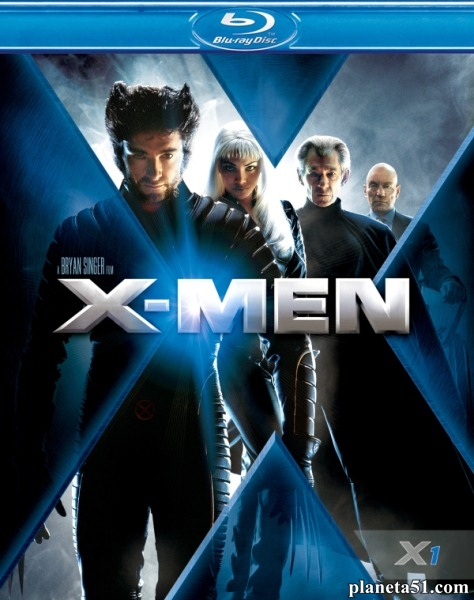 Люди Икс / X-Men (2000/BDRip/HDRip)
