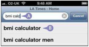 Как искать информацию при помощи Safari?