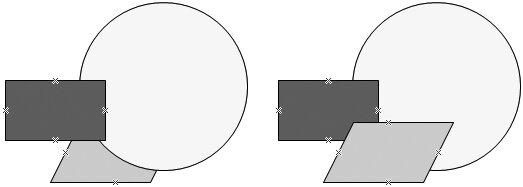 Рис. 4.22. Вы можете изменять порядок наложения элементов друг на друга