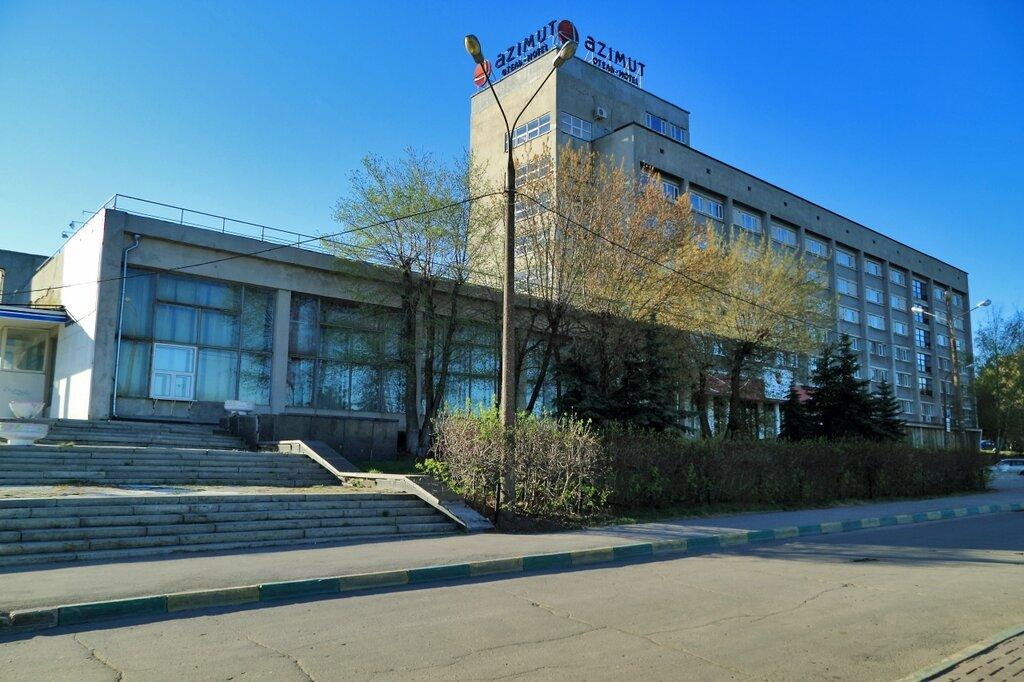 """Гостиница """"Азимут"""" (бывшая """"Нижегородская"""")"""