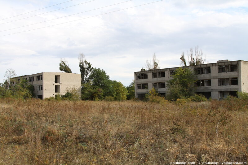 уничтоженный лагерь
