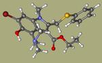 arbidol-ChemDiv1_000732, AC1L2Z4U, AC1Q25HS, Oprea1_384852-CID_131411.png