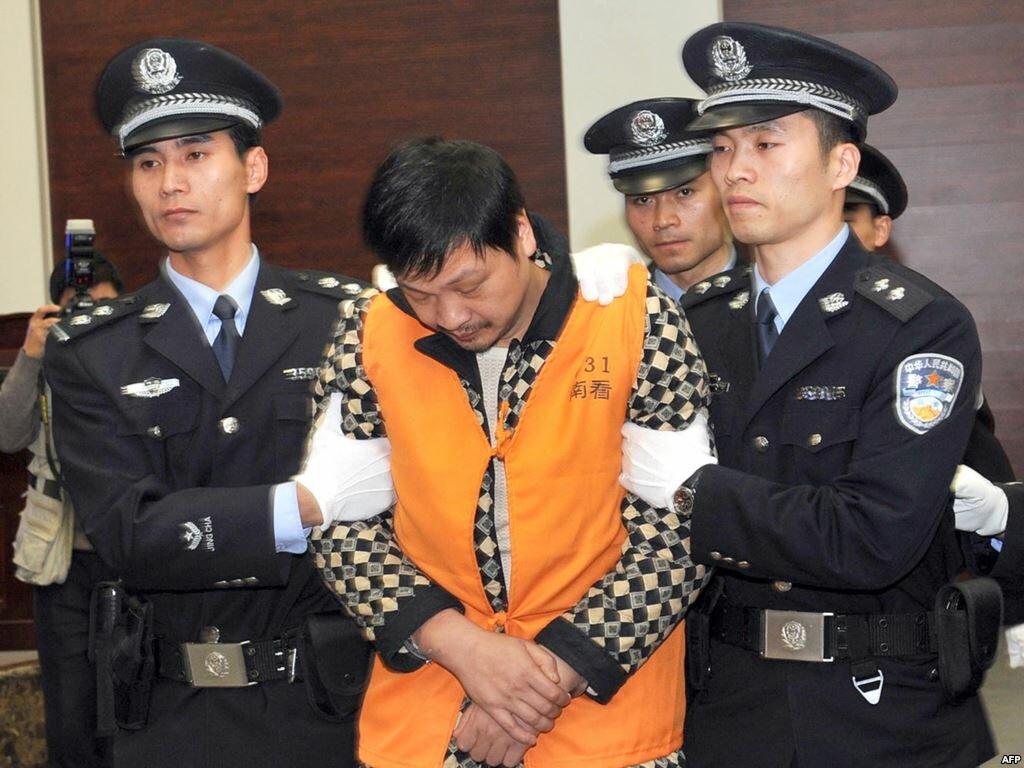 За что казнят в Китае?