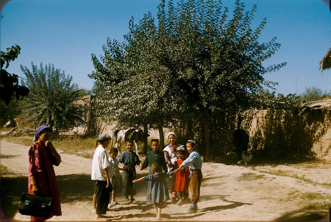 Дети колхозников