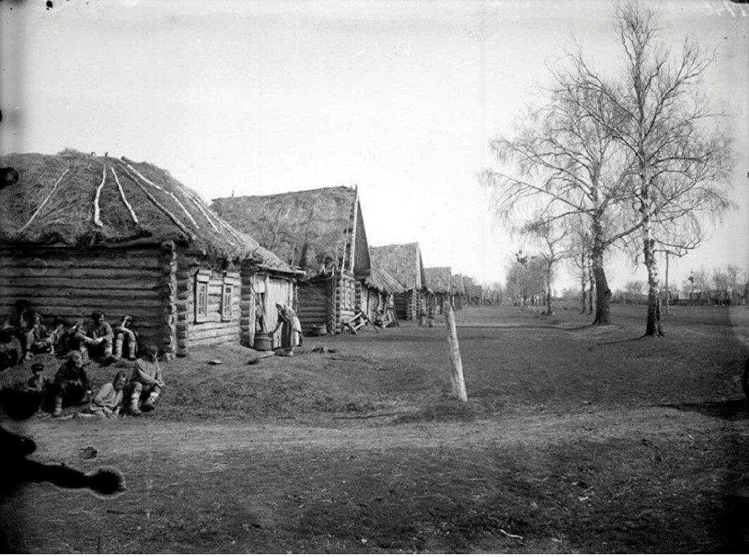Деревня Пермяево.