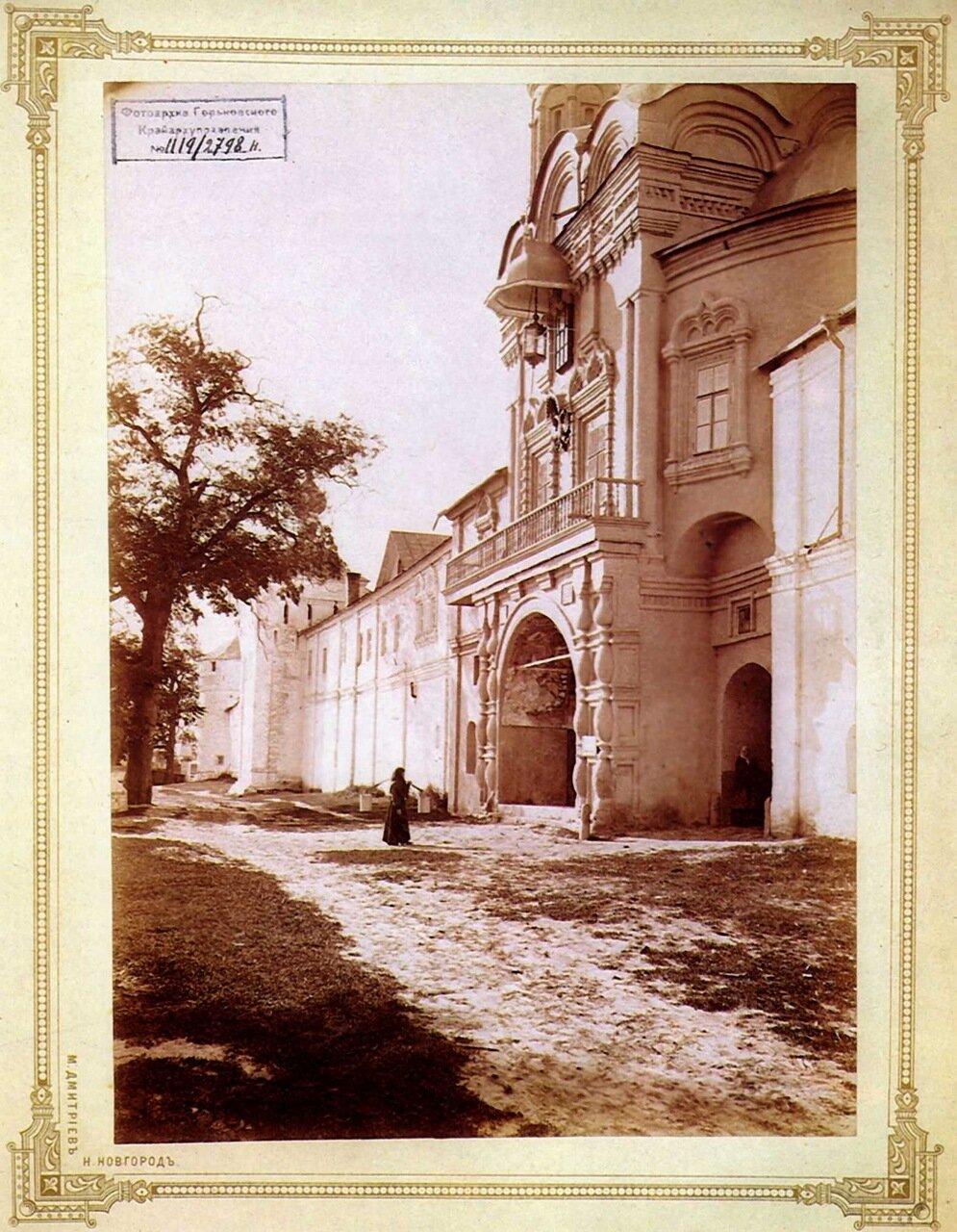 Макарьевский Желтоводский монастырь. Святые ворота 1902