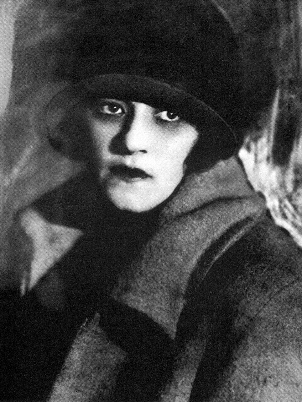 Ф. Г. Раневская. 1928 год