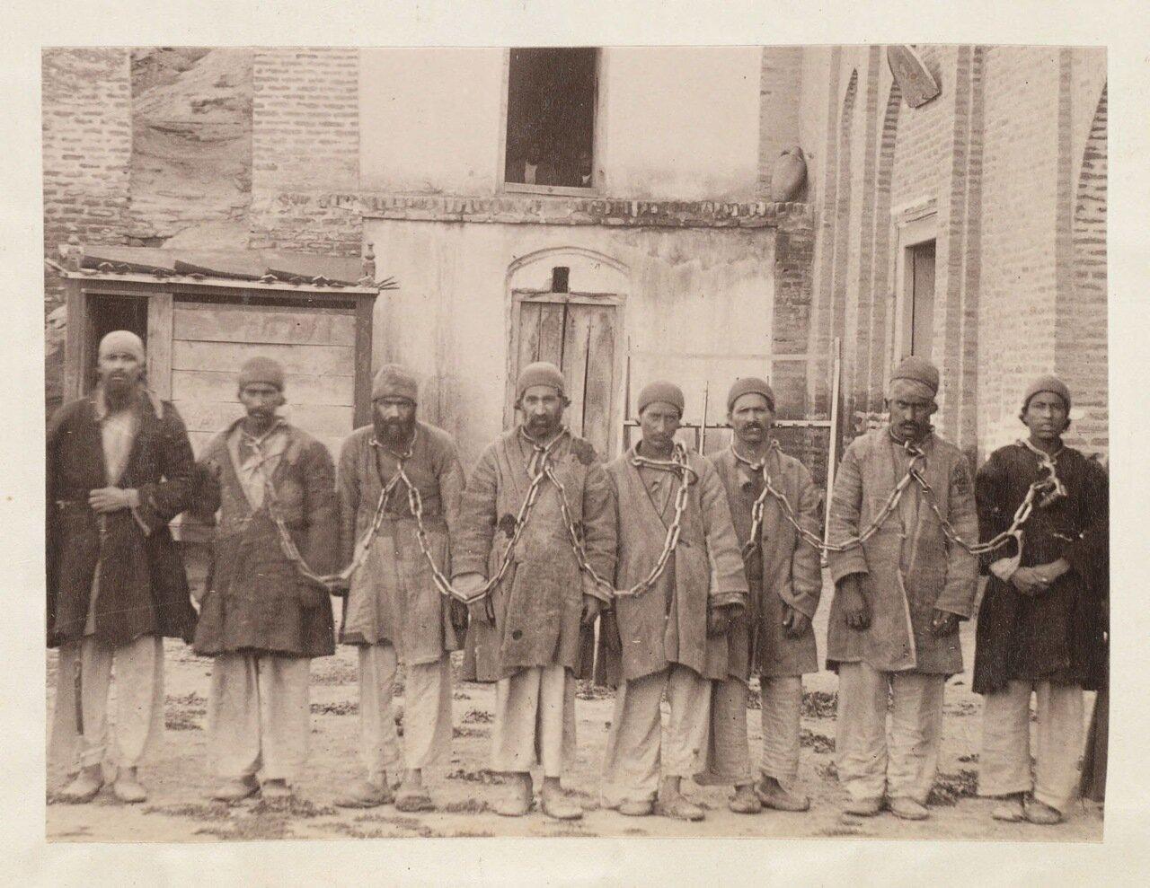 Заключенные в Тебризе