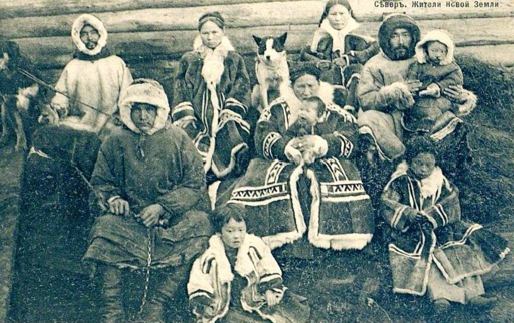Жители Новой Земли
