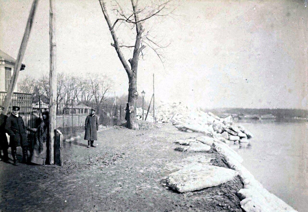 На реке Висла. 1880