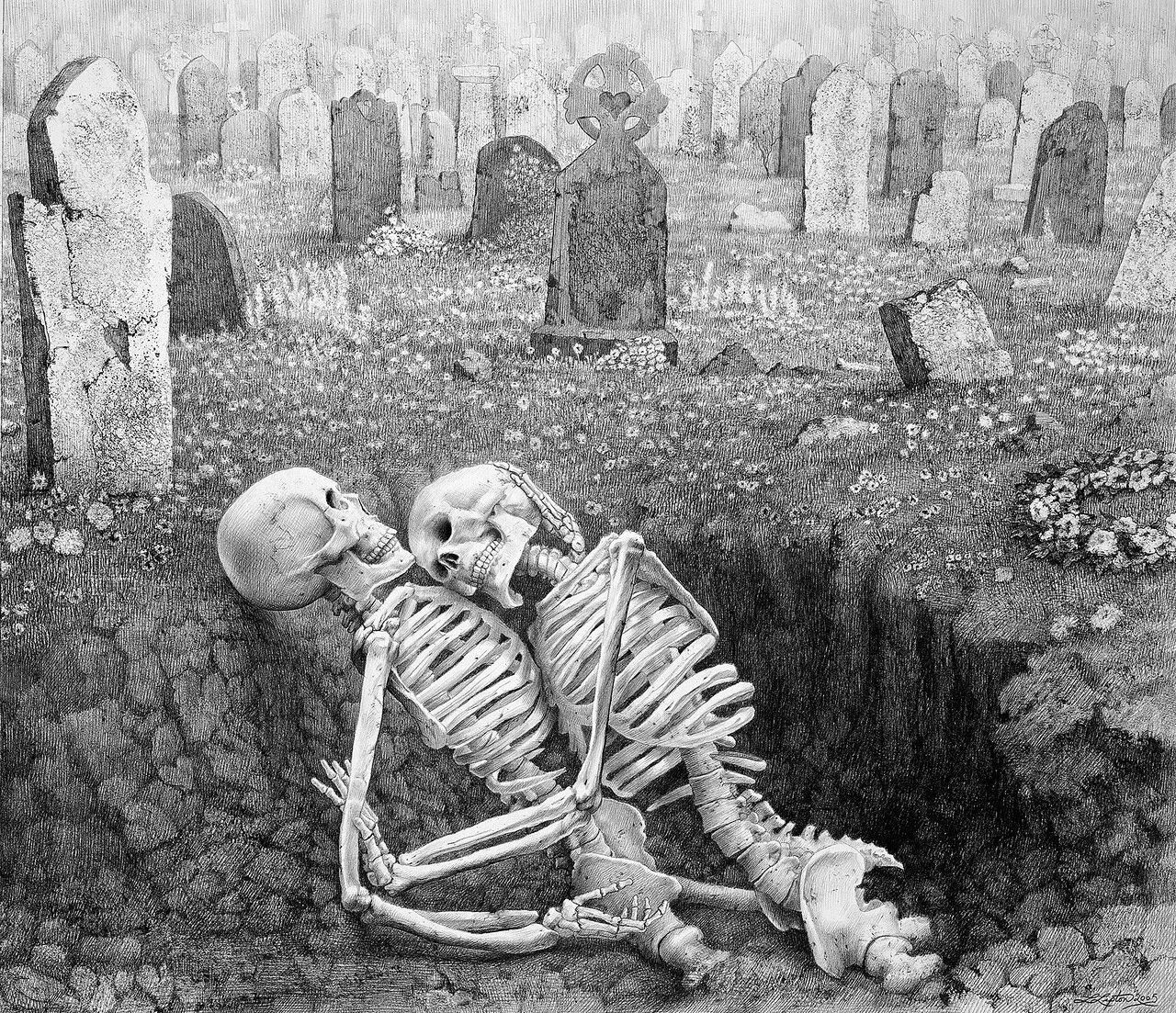 Трахаются в гробу 9 фотография