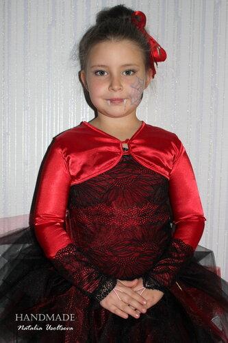 Костюм Вампирши_детский
