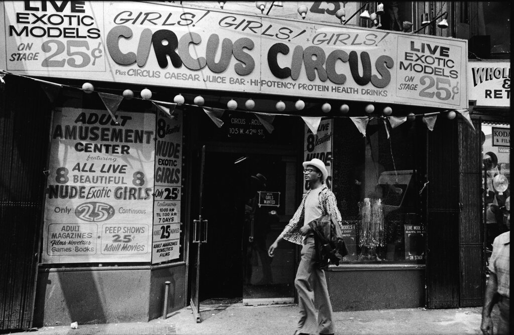 Circus Circus In Times Square