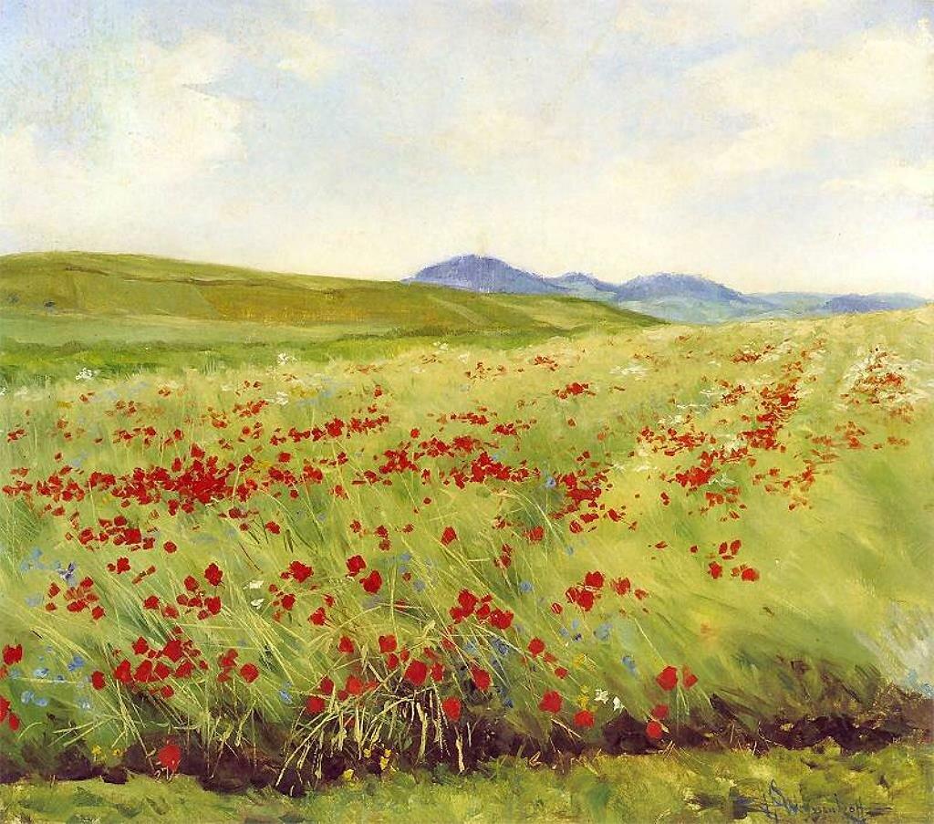 Поле маков (1903-1905) Вейсенгоф, Генрих (1859-1922)