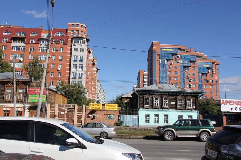 Новый и старый Омск
