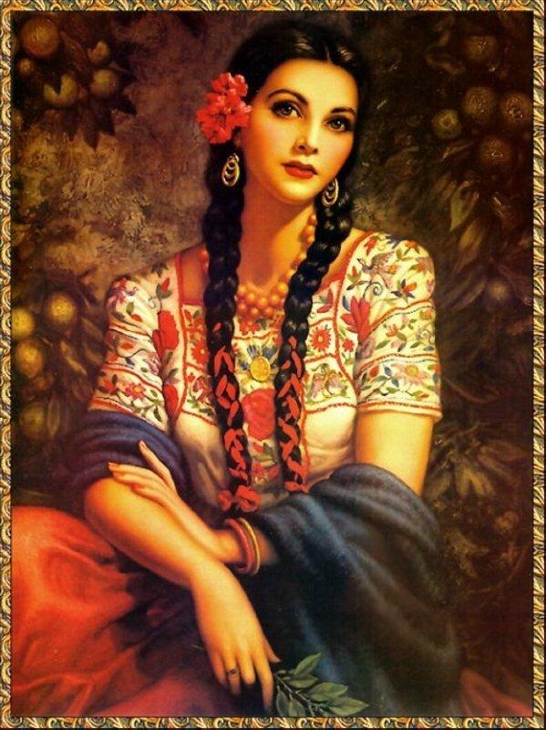 мексиканские красавицы фото