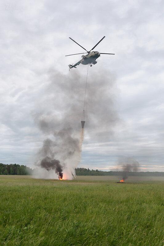 Миль Ми-8МТ (RF-06057 / 87 жёлтый) D706974