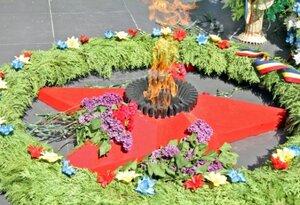 В Бельцах завершилась акция по зажжению вечного огня