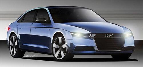 Новая Audi A4: гибрид в трех вариантах