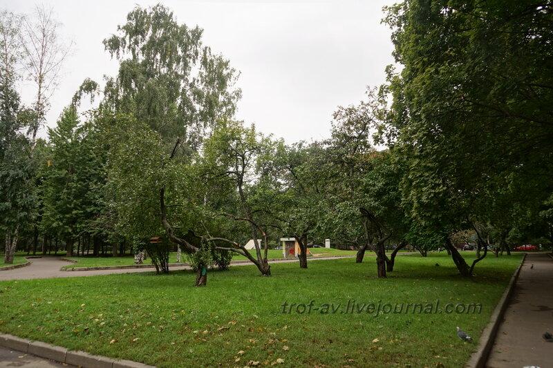 Бомбоубежище. Мемориально-парковый комплекс героев 1 Мировой войны, Москва