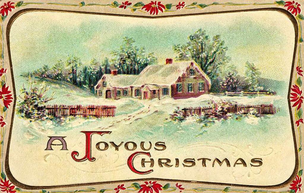 Картинках днем, открытки винтажные с новым годом и рождеством