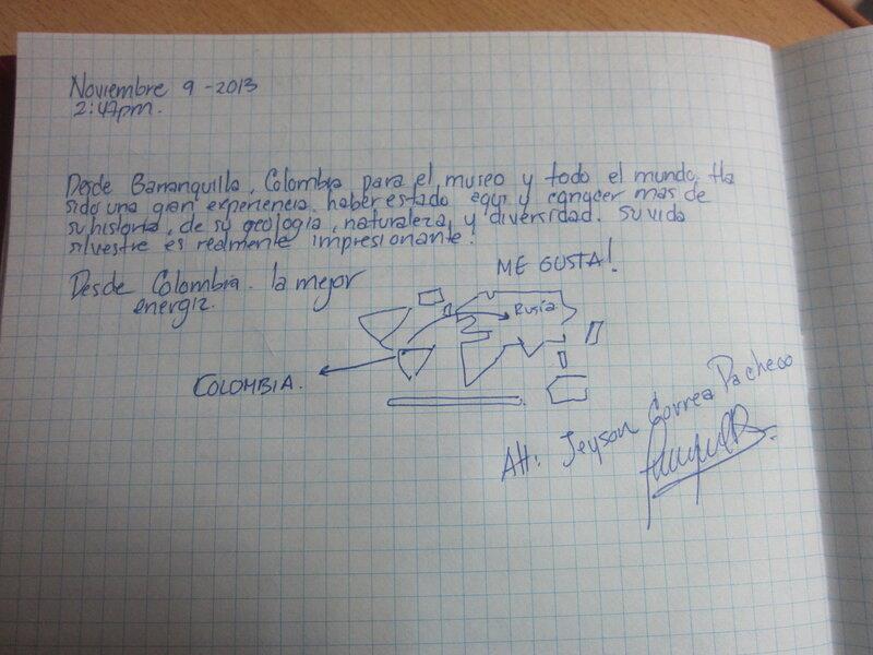 Джейсон не только написал отзыв, но и нарисовал карту мира. Настоящий художник! (15.11.2013)