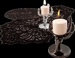 паутины и свечи