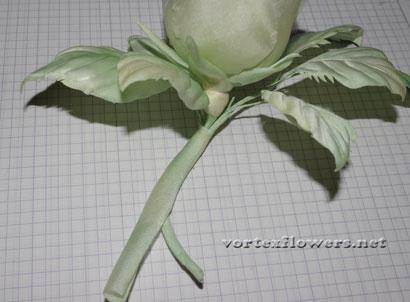 Роза из ткани своими руками. мастер-класс