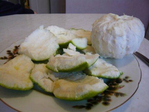 как чистить свити фрукт