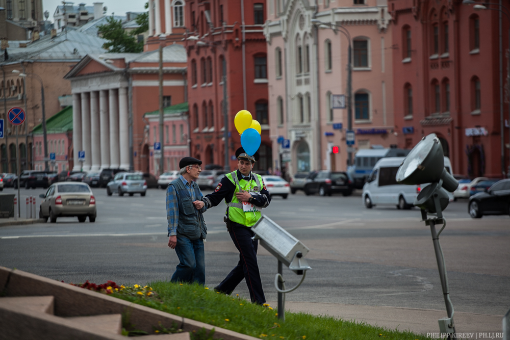 Акция в честь дня рождения Савченко закончилась задержаниями