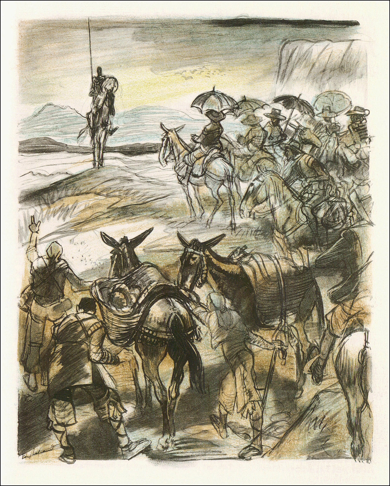 Edy Legrand. Don Quixote